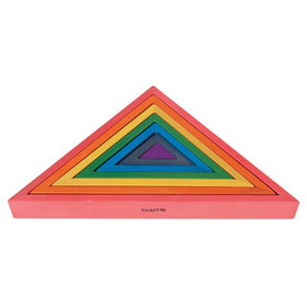 TickiT - 7 Piece Wooden Nesting Triangles