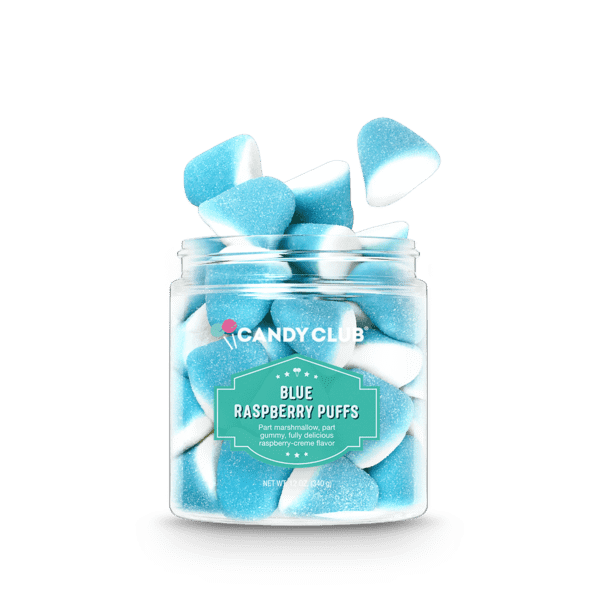 Candy Club ~ Blue Raspberry Puffs