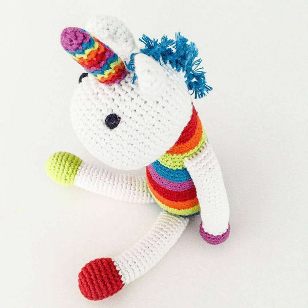 Pebble - Small Unicorn Rattle