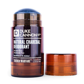 Duke Cannon - Charcoal Natural DEODORANT (Sandalwood & Amber)