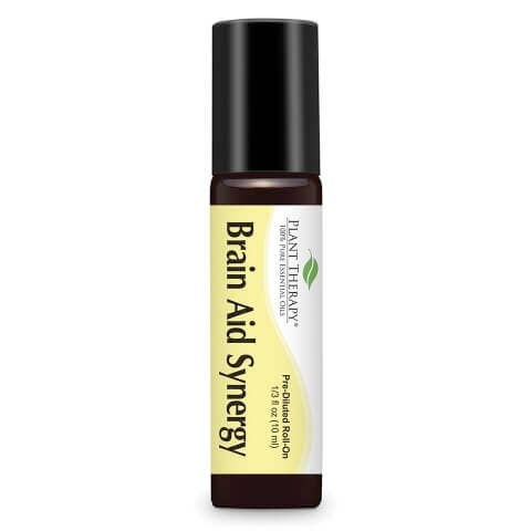 Plant Therapy - 10 ml Brain Aid Synergy Roll On