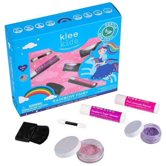 Klee Naturals - Rainbow Fairy - Klee Kids Natural Mineral Play Makeup Kit