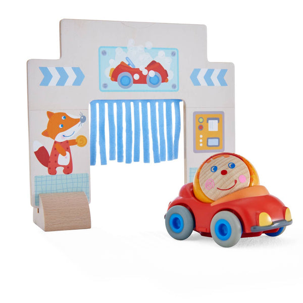 Haba - Kullerbu Theme Set Car Wash