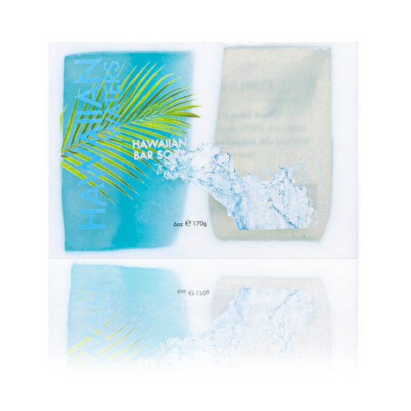 Maui Soap Co. - Hawaiian Waters Bar Soap with Kukui & Coconut Oil 6oz