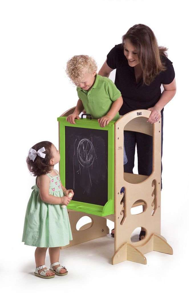 Little Partners Learn and Share Easel (Easel Only) | Ebony