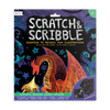Ooly | fantastic dragon scratch and scribble scratch art kit