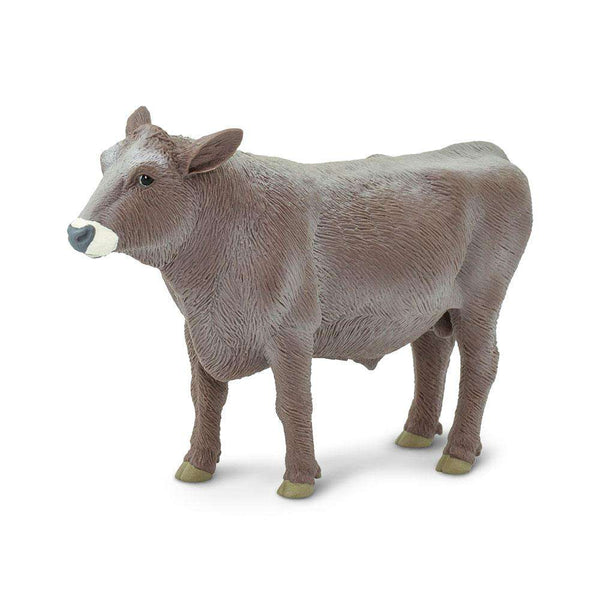 Safari LTD | Safari Farm ~ BROWN SWISS BULL