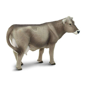 Safari LTD | Safari Farm ~ BROWN SWISS COW