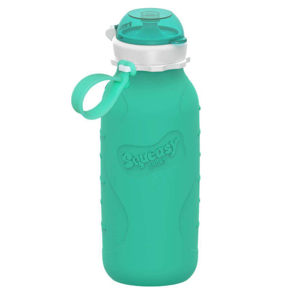 Squeasy Gear Silicone Collapsible Bottle | Aqua Sport