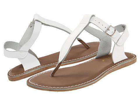 Salt Water T-Thong Sandal | White (adult)