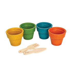 PlanToys | Flower Pot Set
