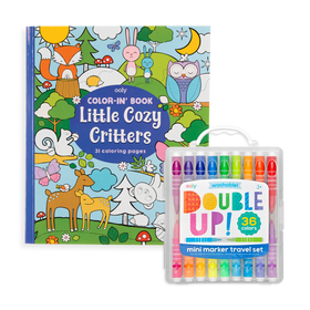 Ooly | Double Up & Cozy Critters Coloring Pack