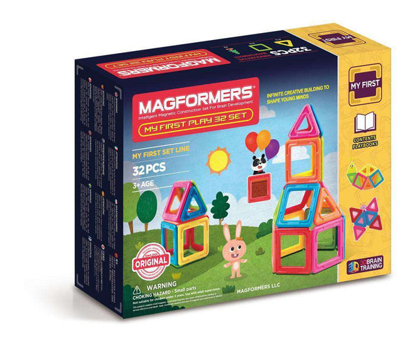 Magformers | My First Play 32 Piece Set