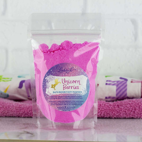 Leebrick - Unicorn Berries Bath Bomb Powder