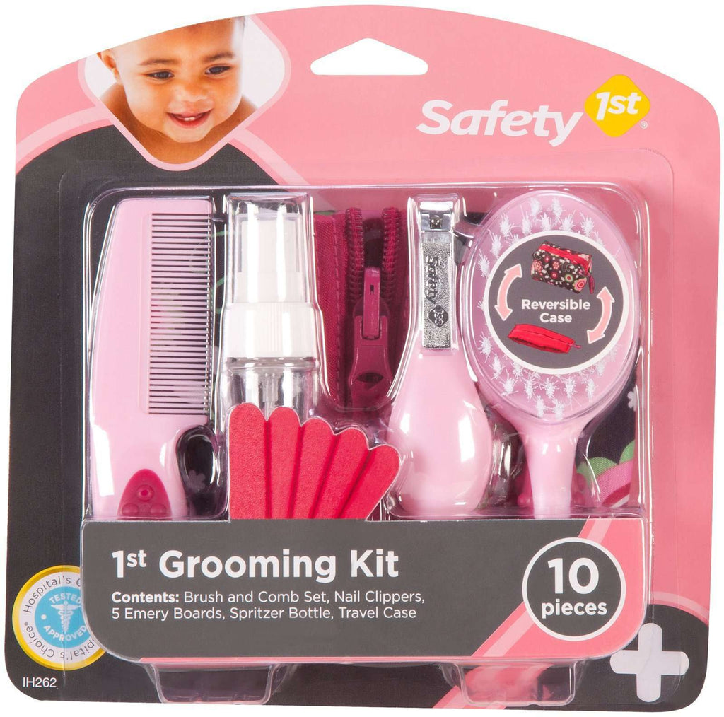 Saftey 1st | 1st Grooming Kit | Pink
