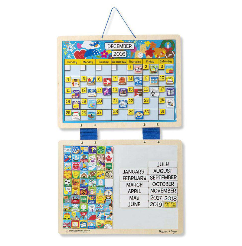 Melissa & Doug | Monthly Magnetic Calendar