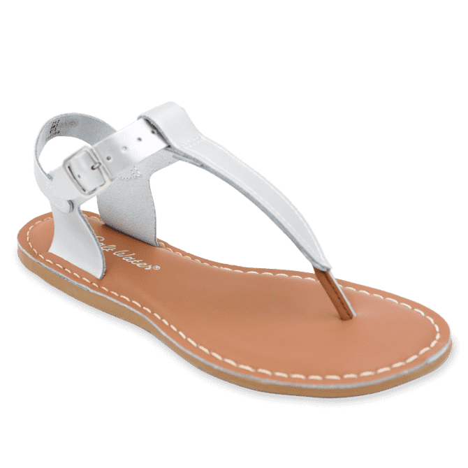 Salt Water T-Thong Sandal | Silver (women's)
