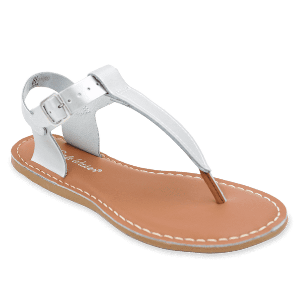 Salt Water T-Thong Sandal | Silver (adult)