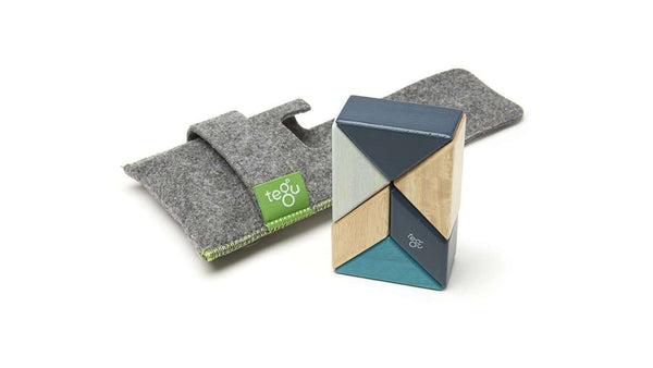 Tegu Prism Pocket Pouch | Blues