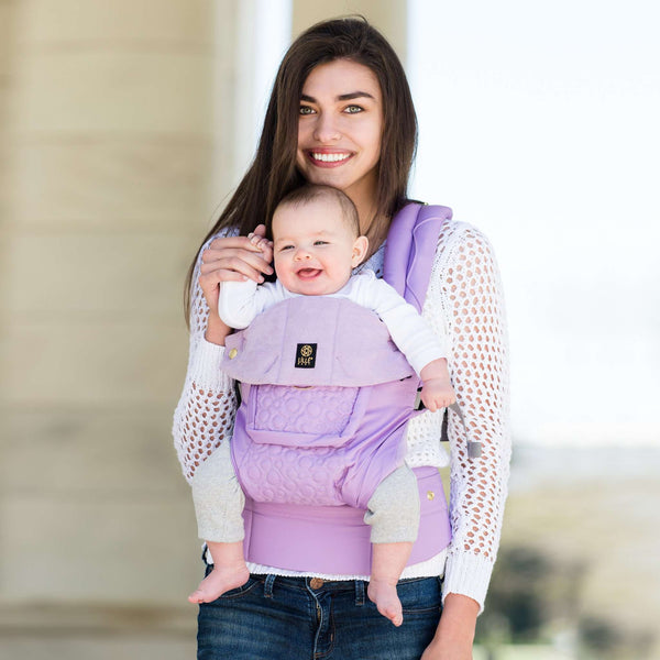 Lillebaby Carrier Complete Embossed Luxe | Lavender