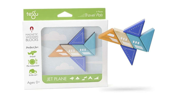 Tegu Travel Pals Collection | Jet Plane