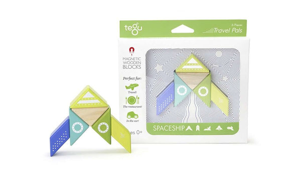 Tegu Travel Pals Collection | Spaceship