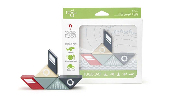 Tegu Travel Pals Collection | Tug Boat