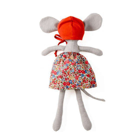 Hazel Village ~ Catalina Mouse In Hedgerow Skirt & Bonnet