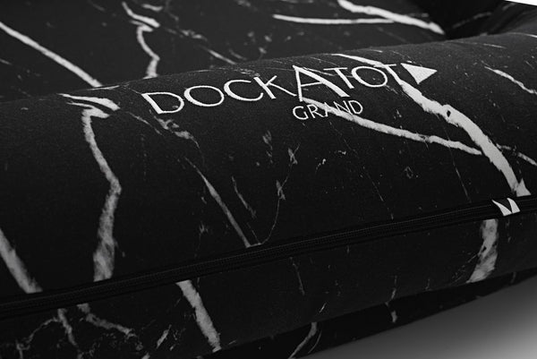 DOCKATOT SPARE COVER for Grand Dock -  Black Marble (dock sold separately)