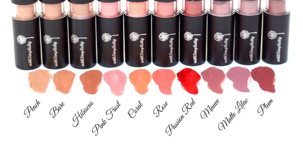 withSimplicity Beauty - Organic Lipstick