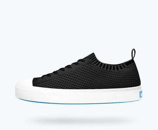Native Shoes | Jefferson 2.0 Liteknit  Women Jiffy Black / Shell White