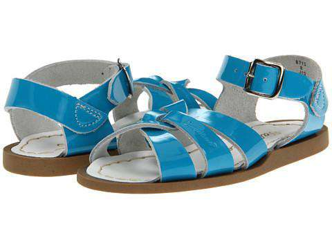 Salt Water Original Sandal | Turquoise (children's) *ships in a week* *final sale*