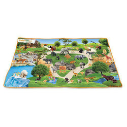 "Safari LTD | Wild Safari Playmat 24"" x 45"""