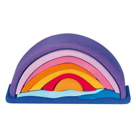 Gluckskafer Toys ~ Sunset Stacking Puzzle
