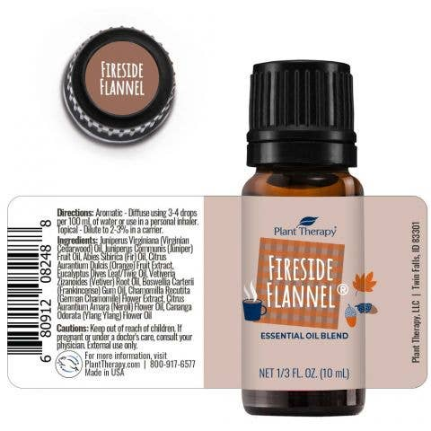 Plant Therapy - Fire Side Flannel Essential Oil Blend