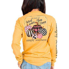 Simply Southern | Long Sleeve ~ Do More Of What Makes You Happy