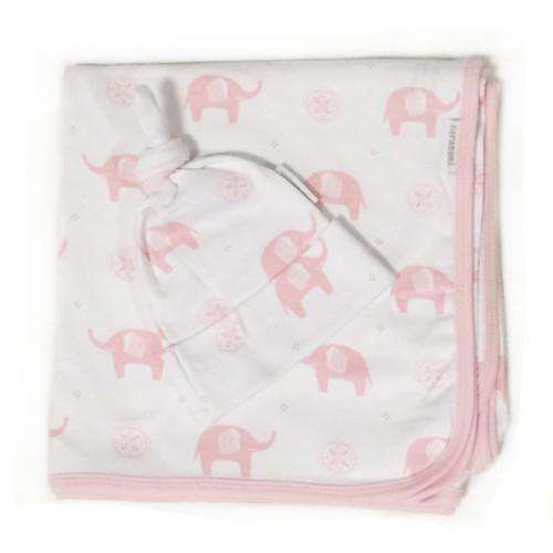 Saranoni Luxury Blanket | Cotton Swaddle w/ Beanie