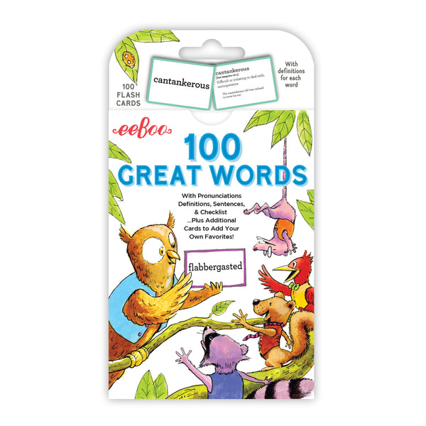Flash Cards | 100 Great Words