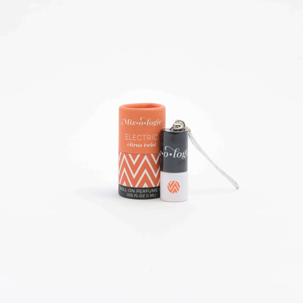 Mixologie - Electric (citrus twist) Mini Roll-On Perfume (1 mL) Keychain