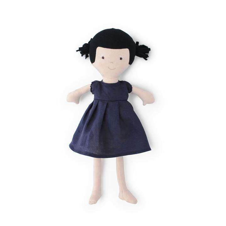 Hazel Village ~ Nell In Navy Lined Dress