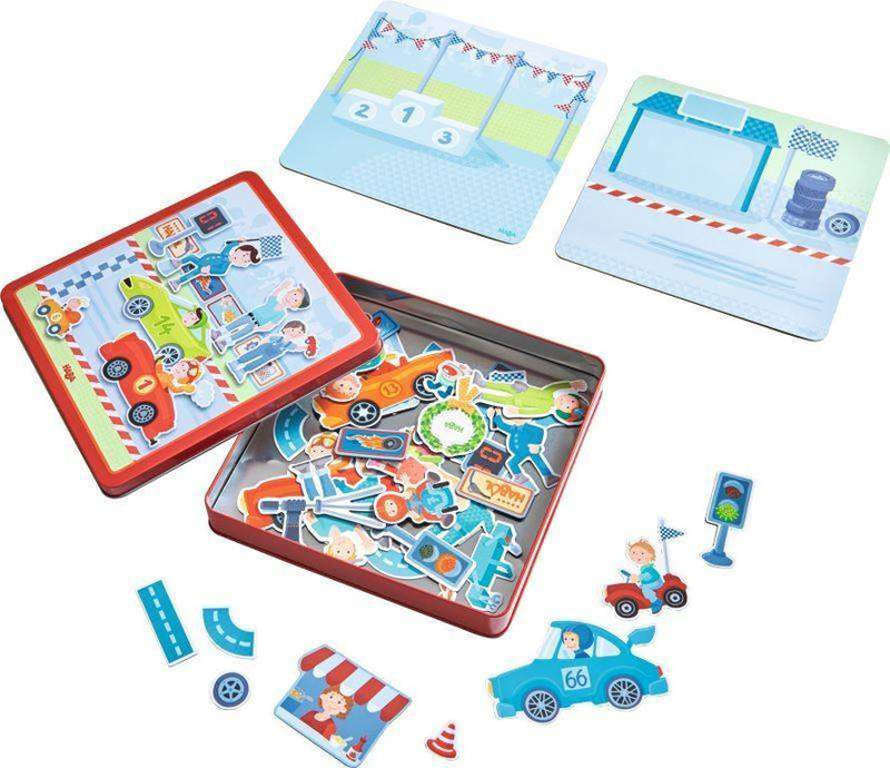 Haba Zippy Cars Magnetic Game