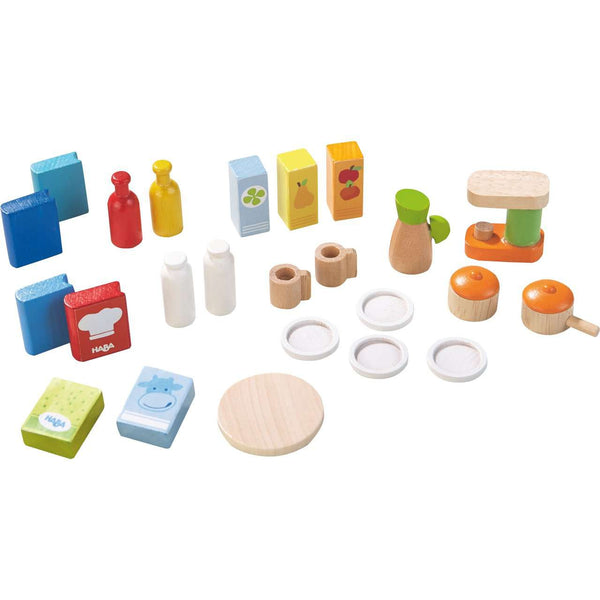 Haba ~ Dollhouse Furniture Kitchen Accessories