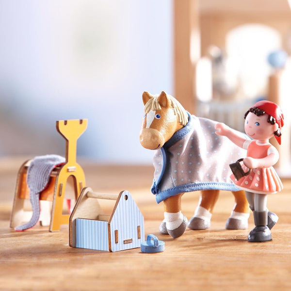 Haba | Little Friends Horse Play Set Riding Joy