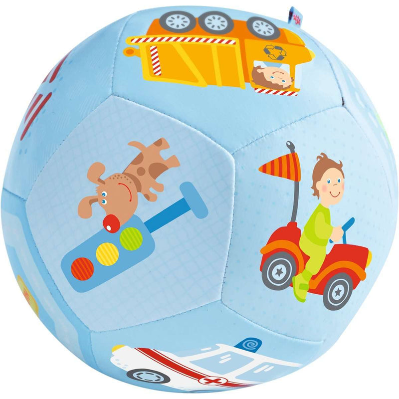 Haba Baby Ball World of Vehicles, 5 1/2