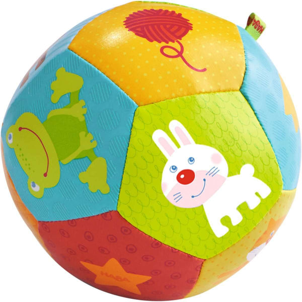 Haba Baby Ball Animal Friends, 4 1/2""