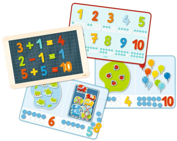 Haba Magnetic Game Box 1, 2 Numbers & You