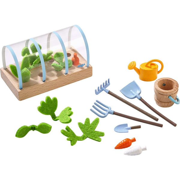 Haba Little Friends ~ Play Set Vegetable Garden
