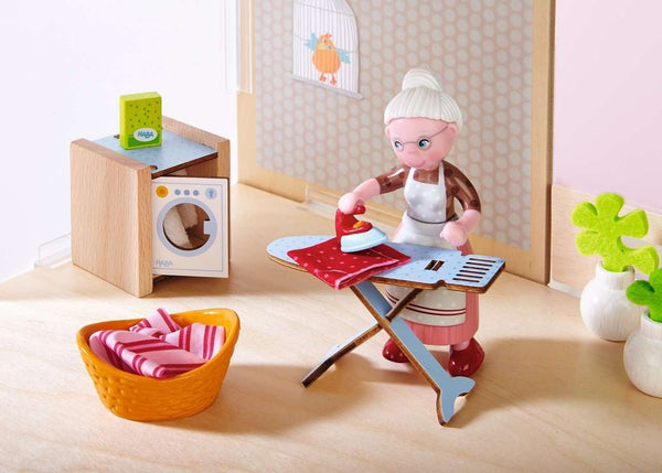 Haba ~ Dollhouse Furniture Washday - Laundry Room Set