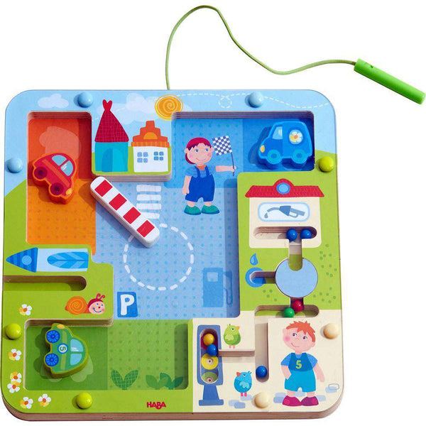 Haba On The Road Maze Magnetic Game