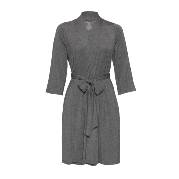 Posh Peanut ~ Mommy Robe ~ Charcoal Heather